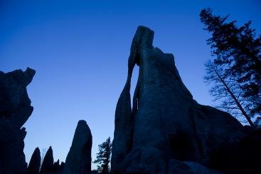The Needle's Eye on the Needles Highway