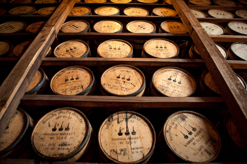 maturing bourbon